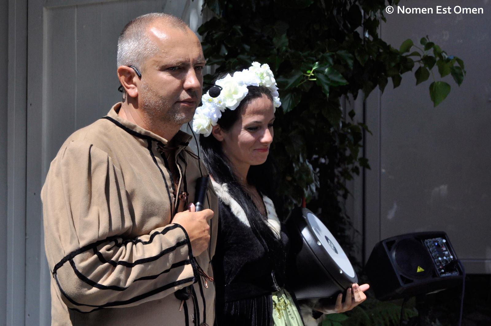 Nomen Est Omen – Mihai Plǎmǎdealǎ şi Anca Dobre la Gǎrȃna (2014)