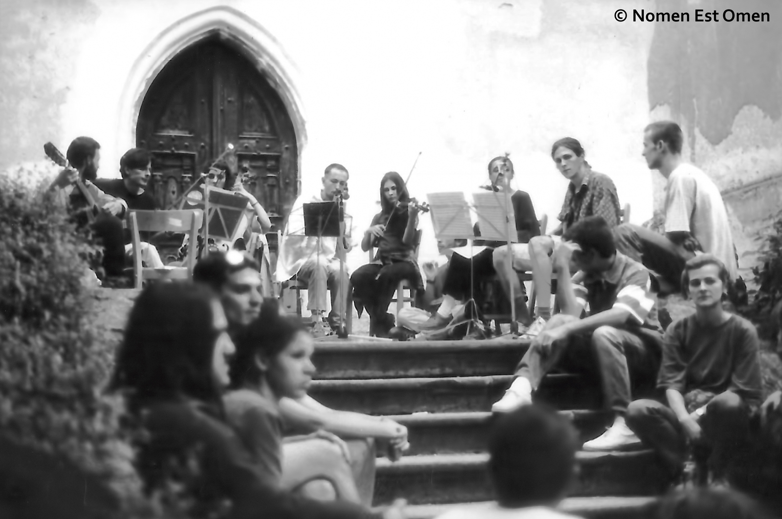 Festivalul Sighisoara Medievala 1996 - formatia Nomen Est Omen