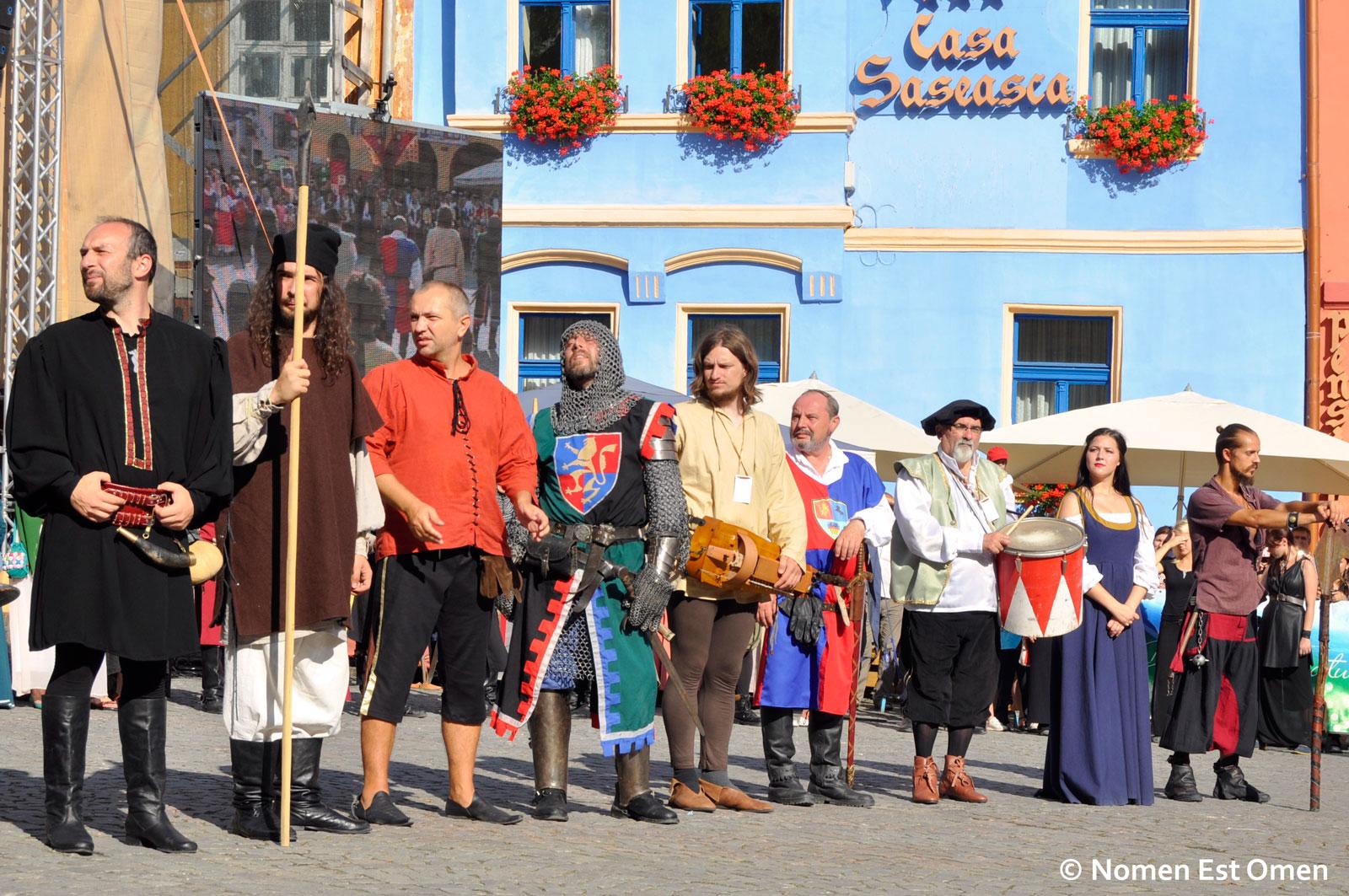 Deschiderea festivalului Sighisoara Medievala 2014