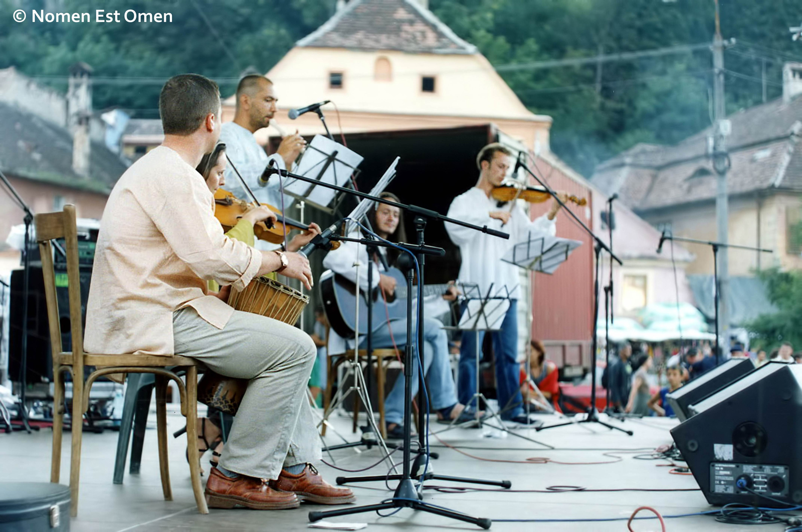 Festivalul Medieval Sighisoara - Nomen Est Omen - Piata Sigma