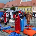 Tabără medievală la Sibiu