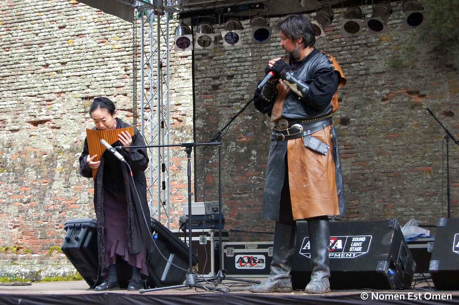 Yumika Nozaki si Liviu Pancu