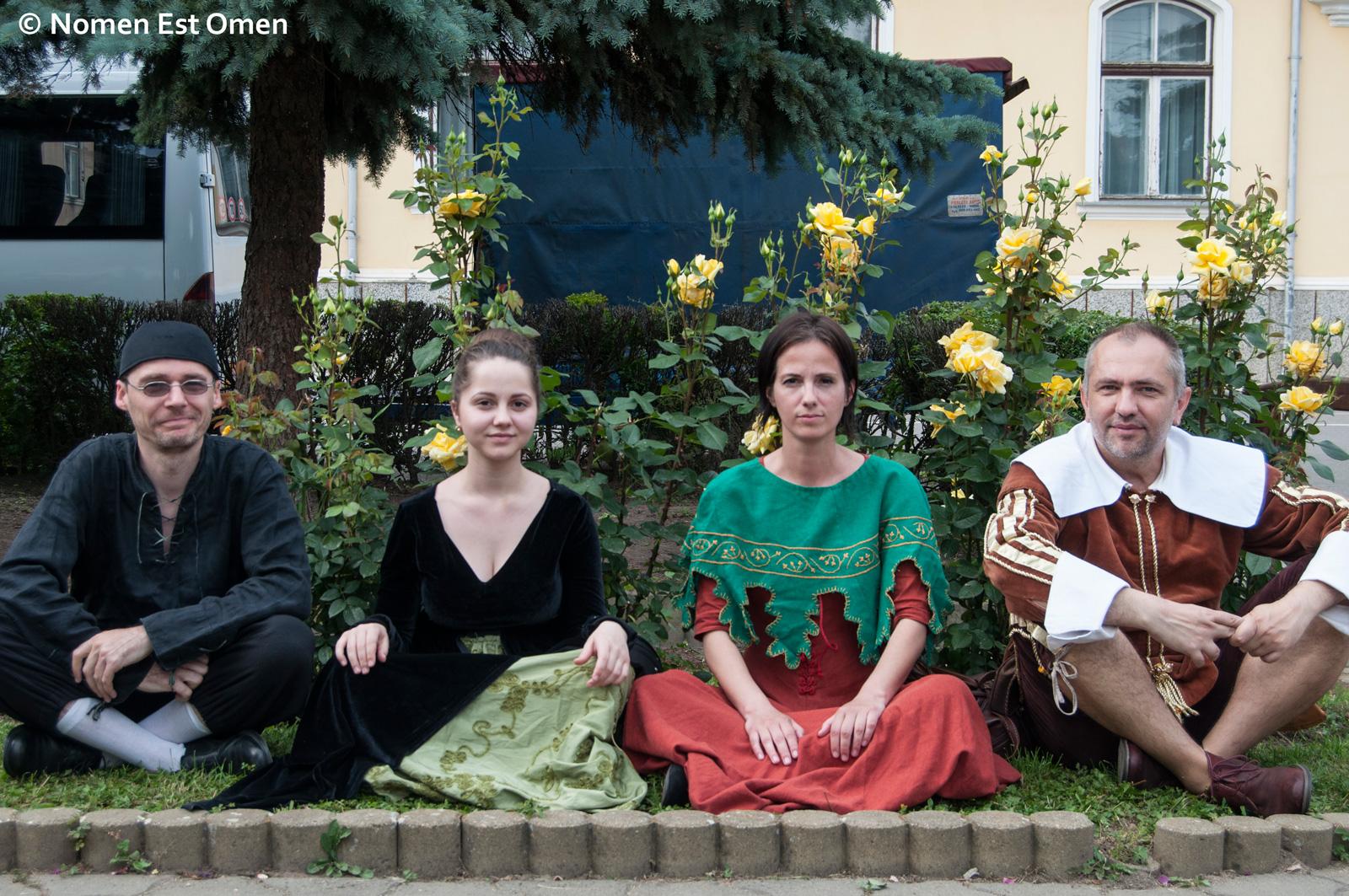 Nomen Est Omen la festivalul medieval de la Sebes