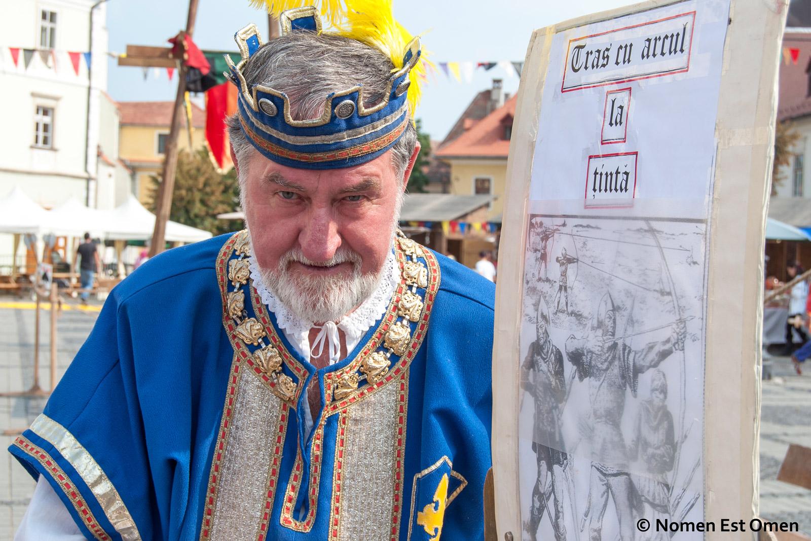 Festivalul medieval de la Sibiu