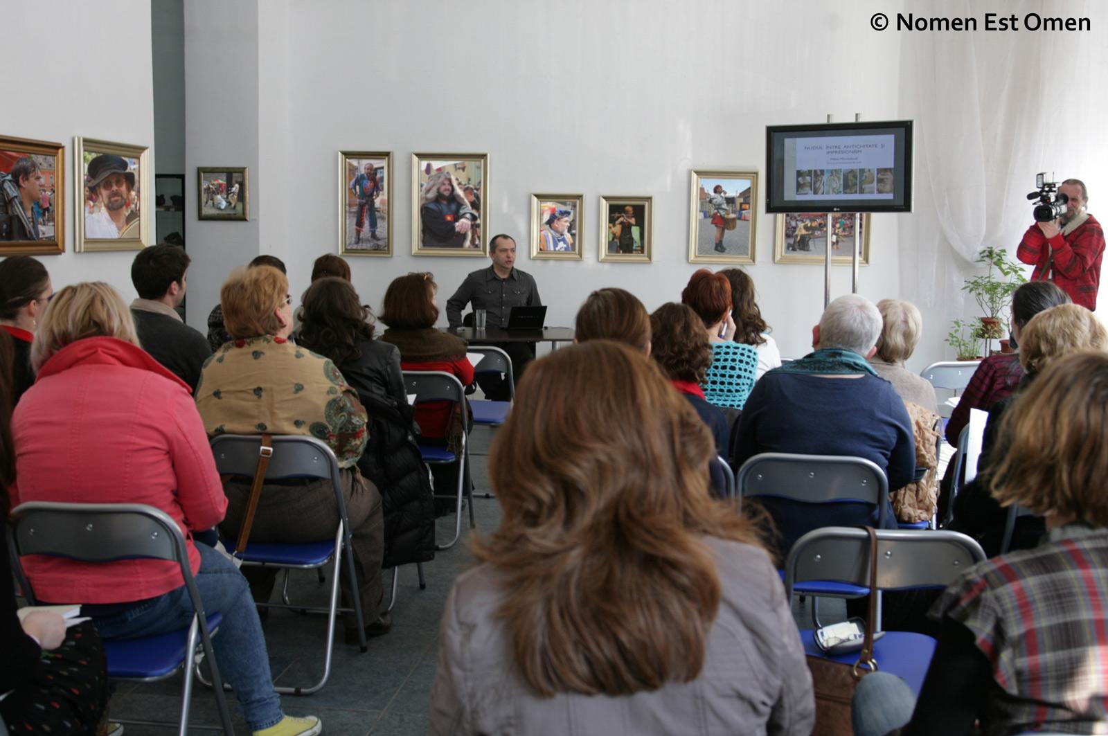 Conferinţă Mihai Plămădeală - Nomen Est Omen