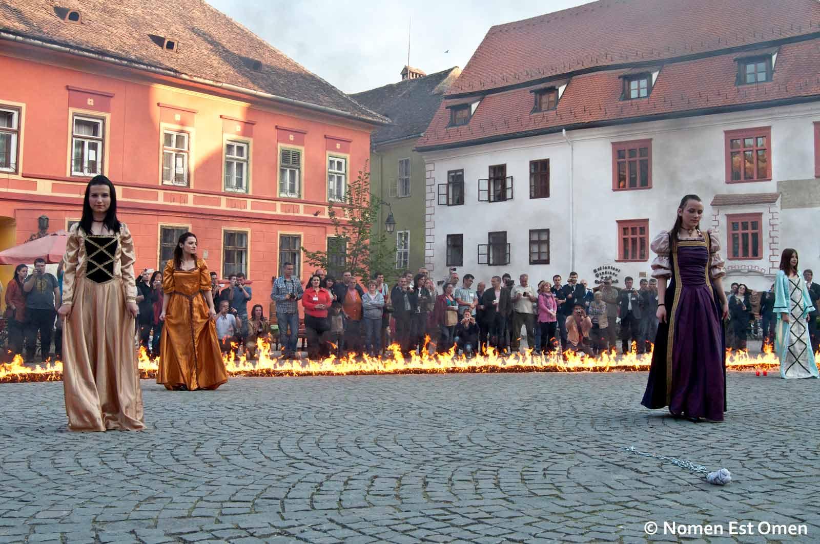 Festivalul Medieval Sighisoara - amenintari