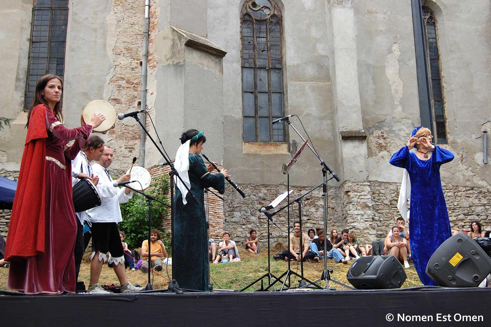 Terpsichore la Sighisoara Medievala