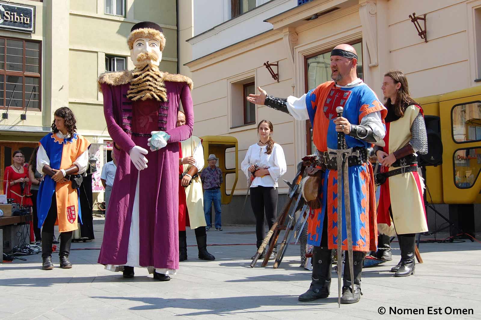 Spectacol marionete Sibiu