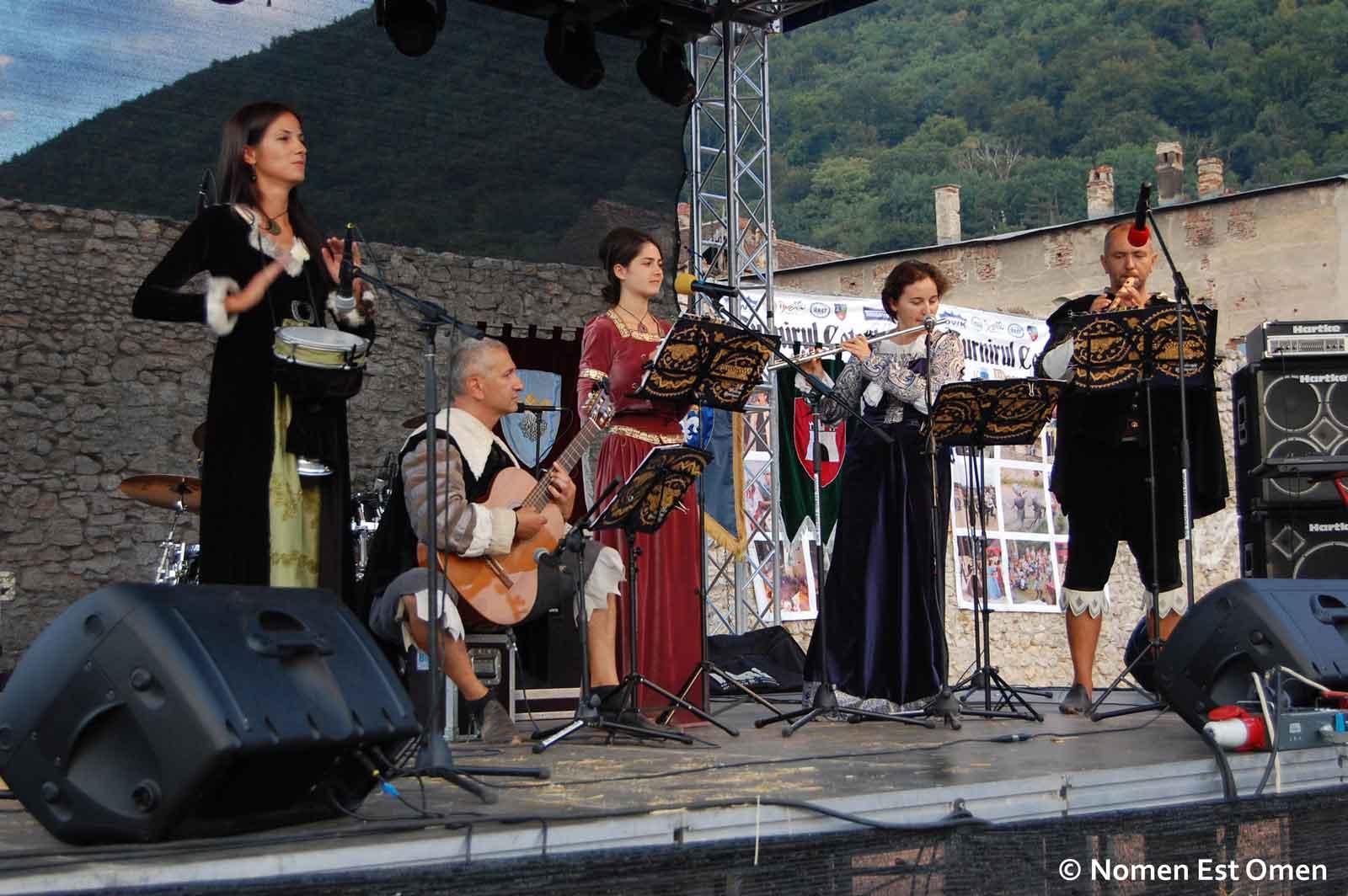 Concert Nomen Est Omen la Brasov