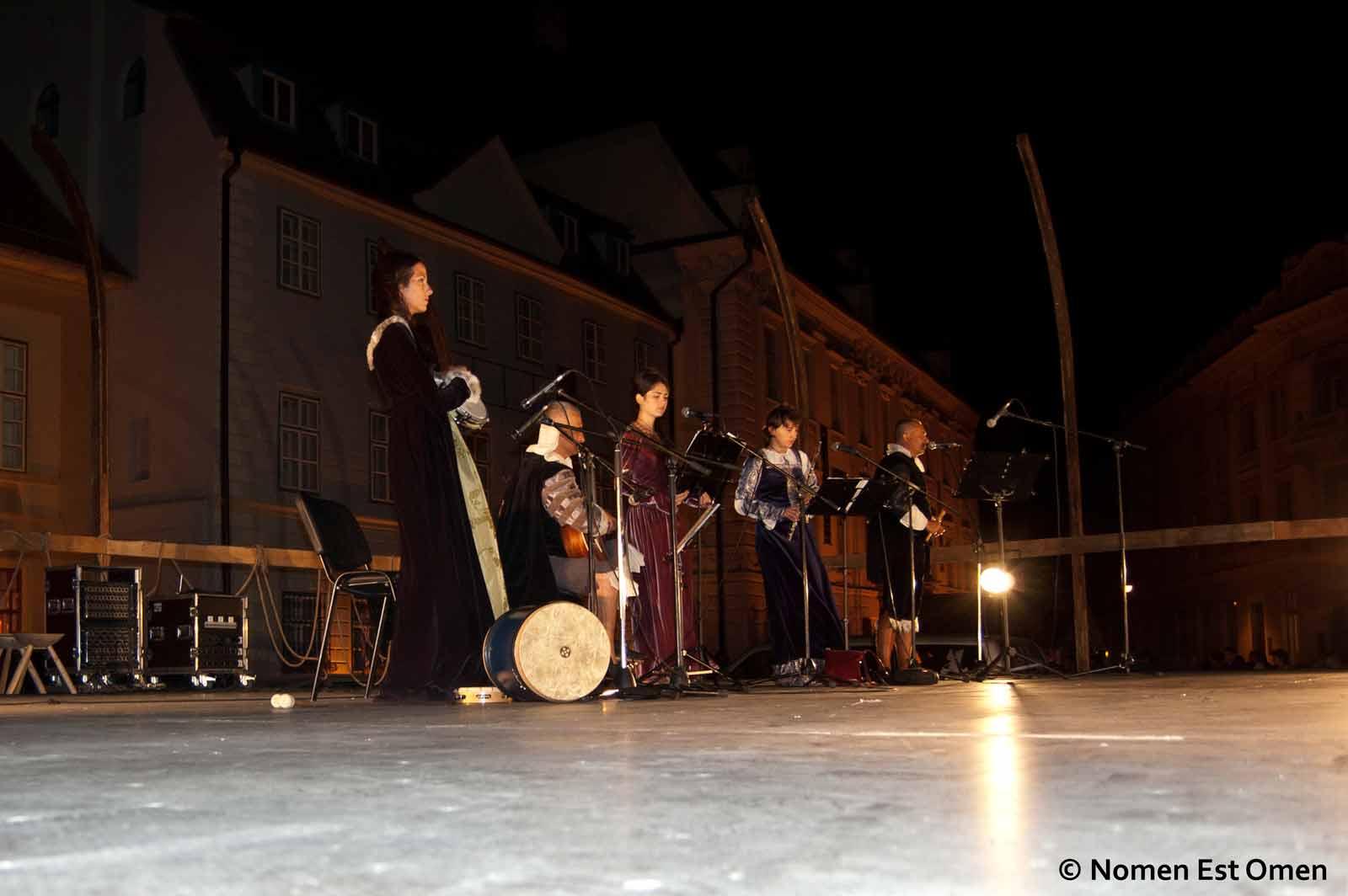Concert Nomen Est Omen la Sibiu