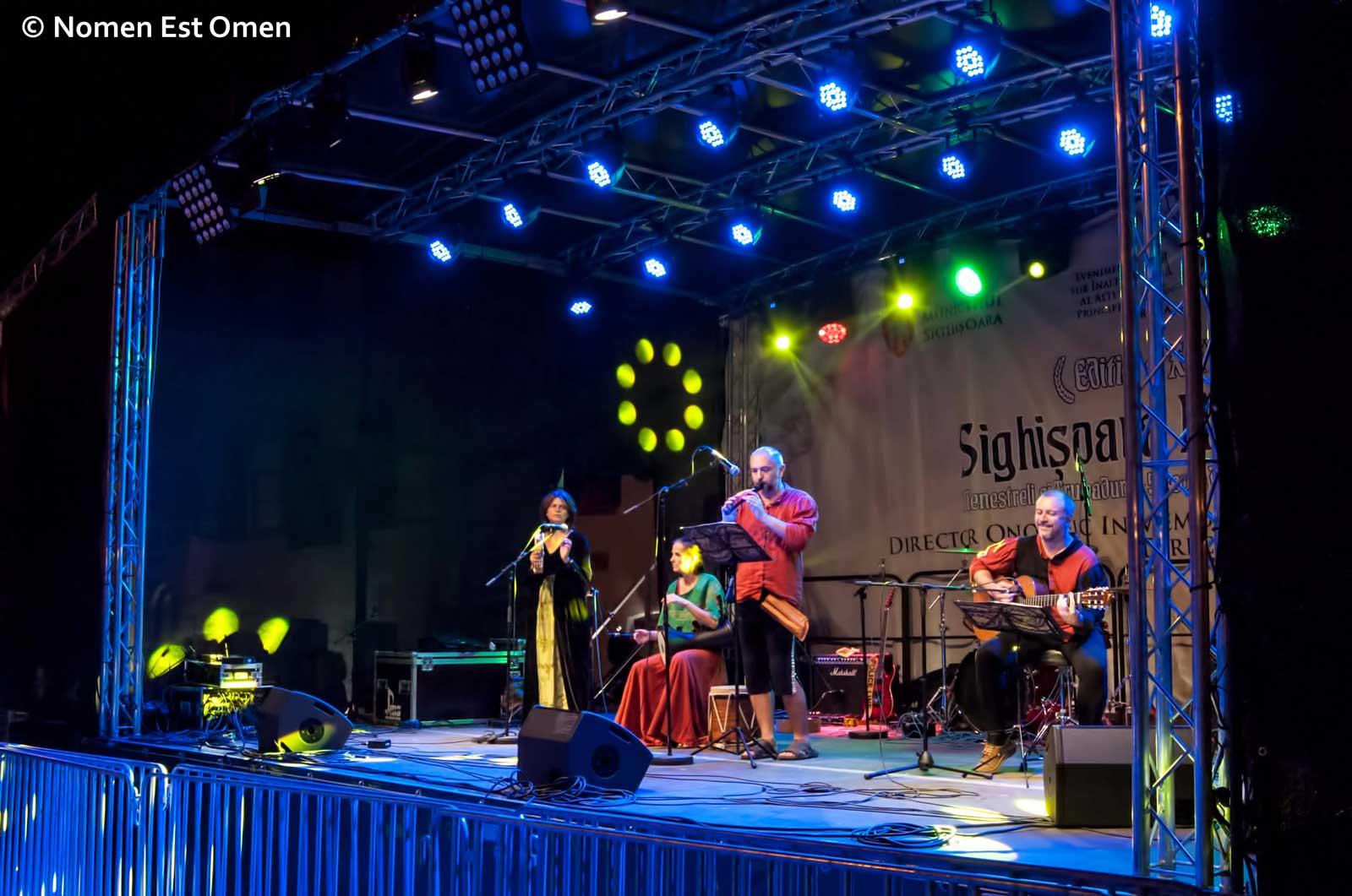 festivalul medieval de la Sighisoara