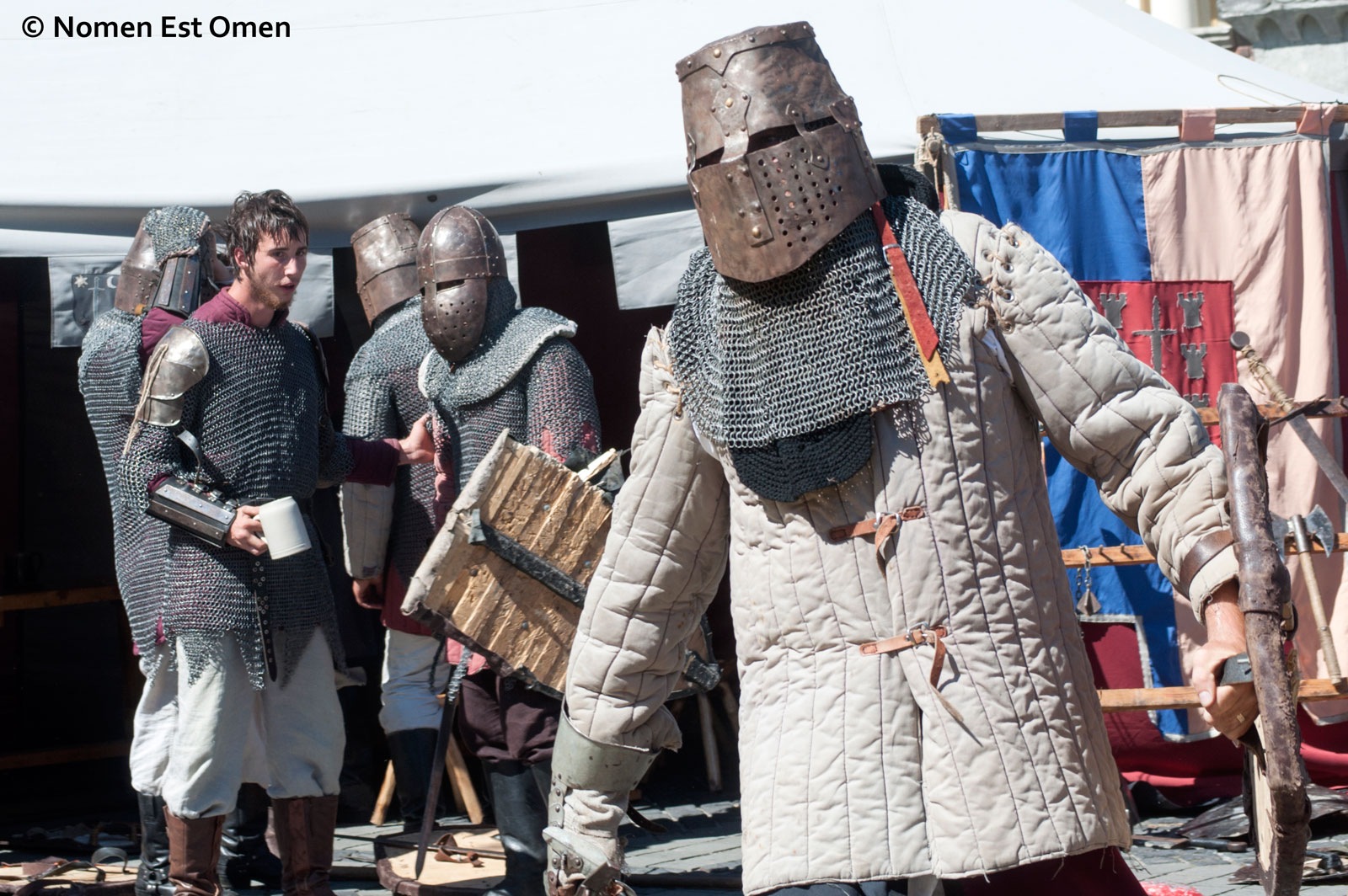 Medieval Tournament in Sibiu. Knights of the 21st Century