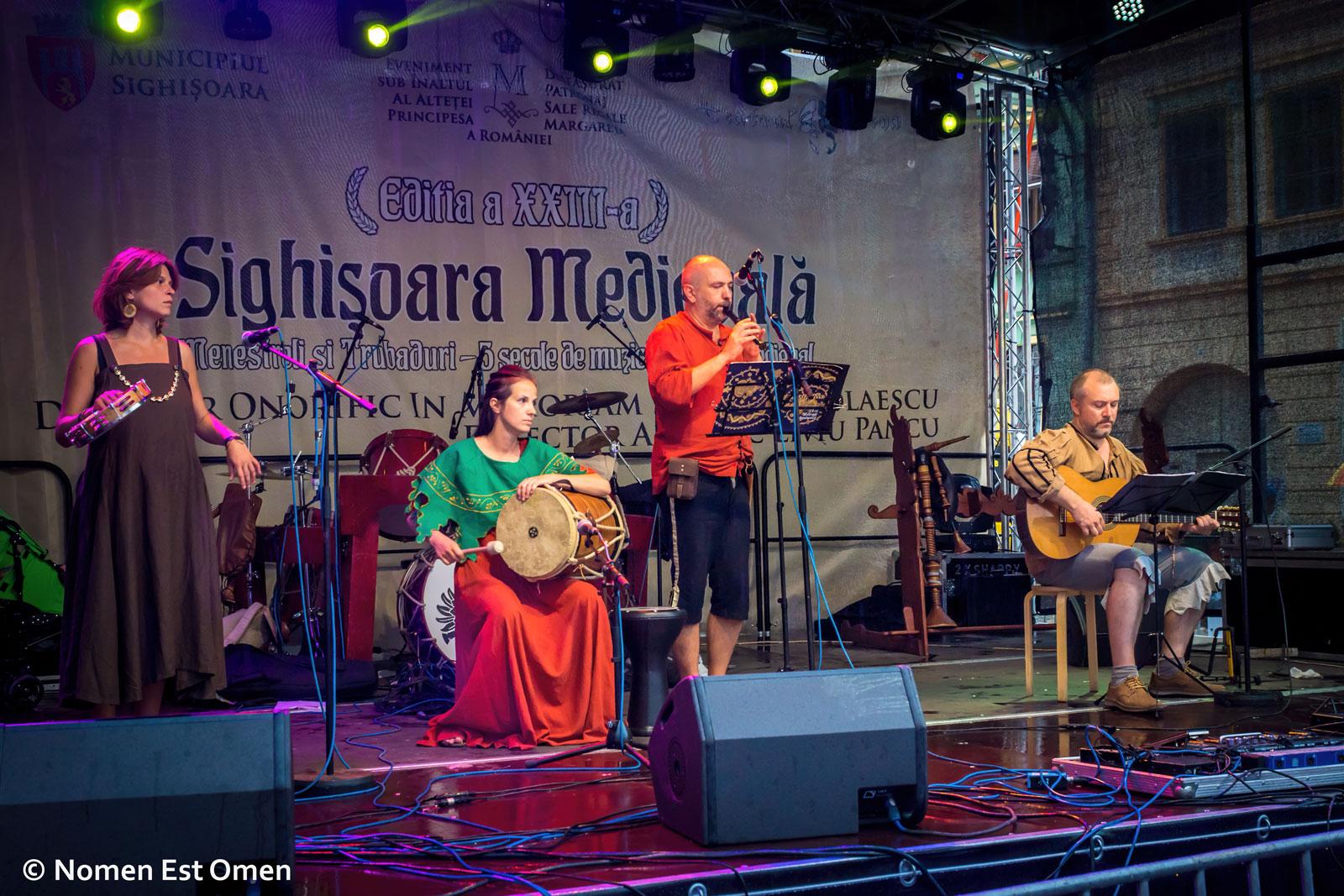 Nomen Est Omen la Sighişoara (foto: Alexandru Toma)