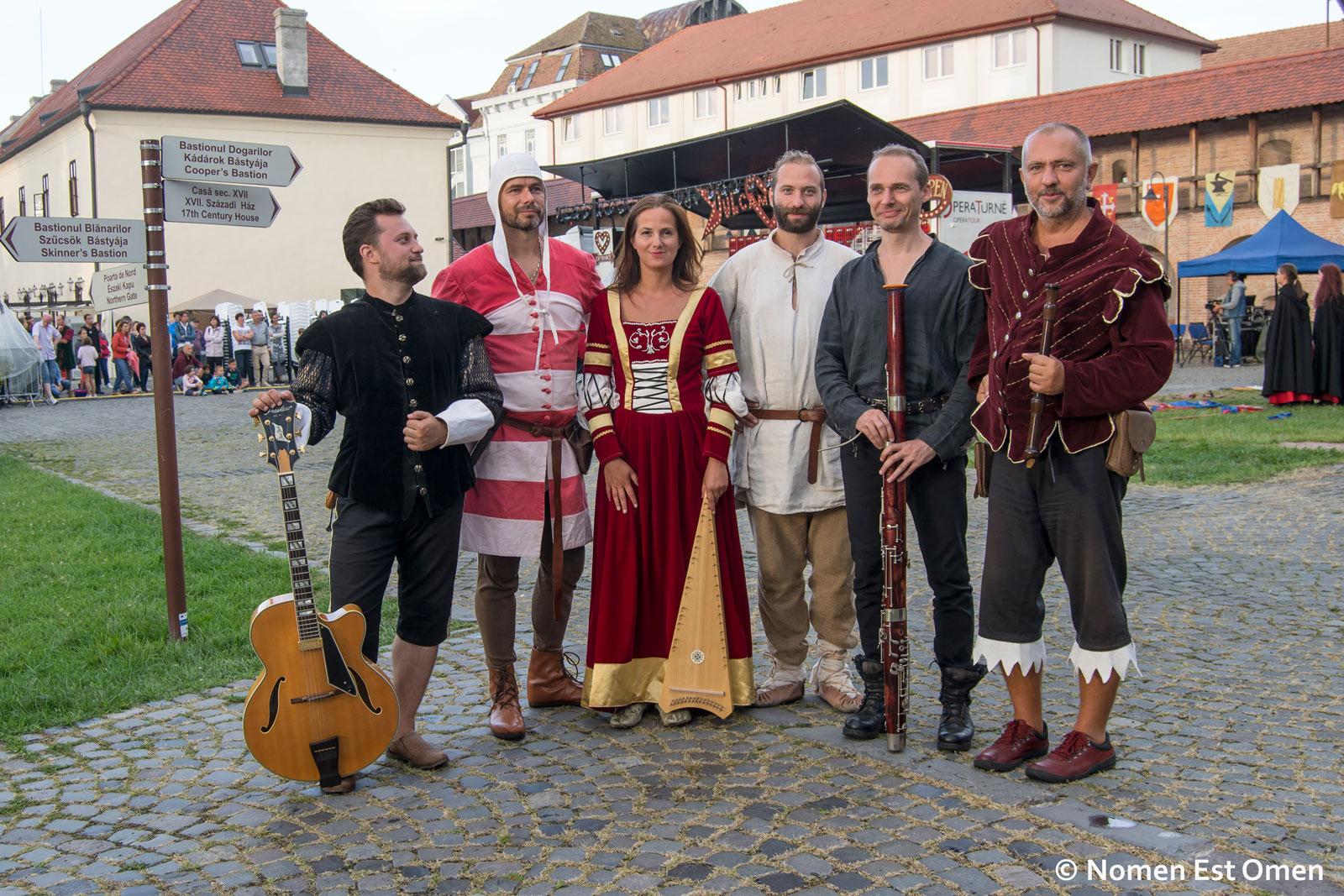 Medieval festivals time
