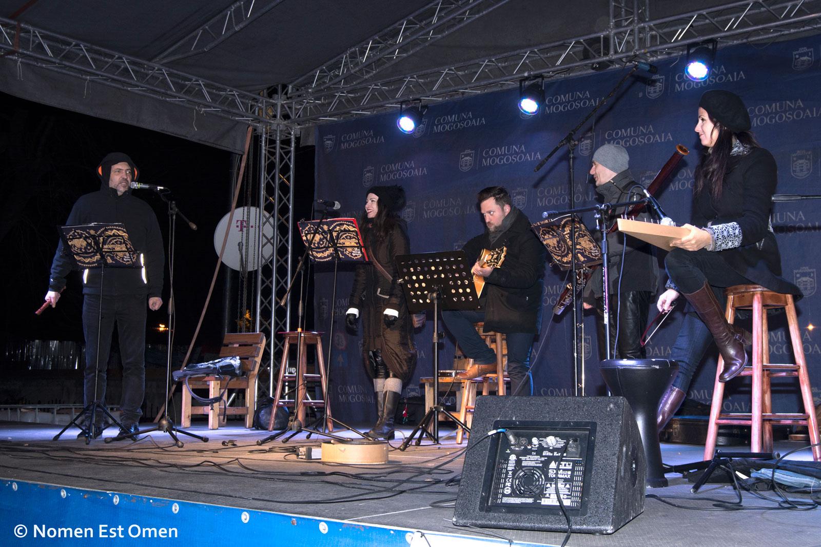 Nomen Est Omen concert iarna