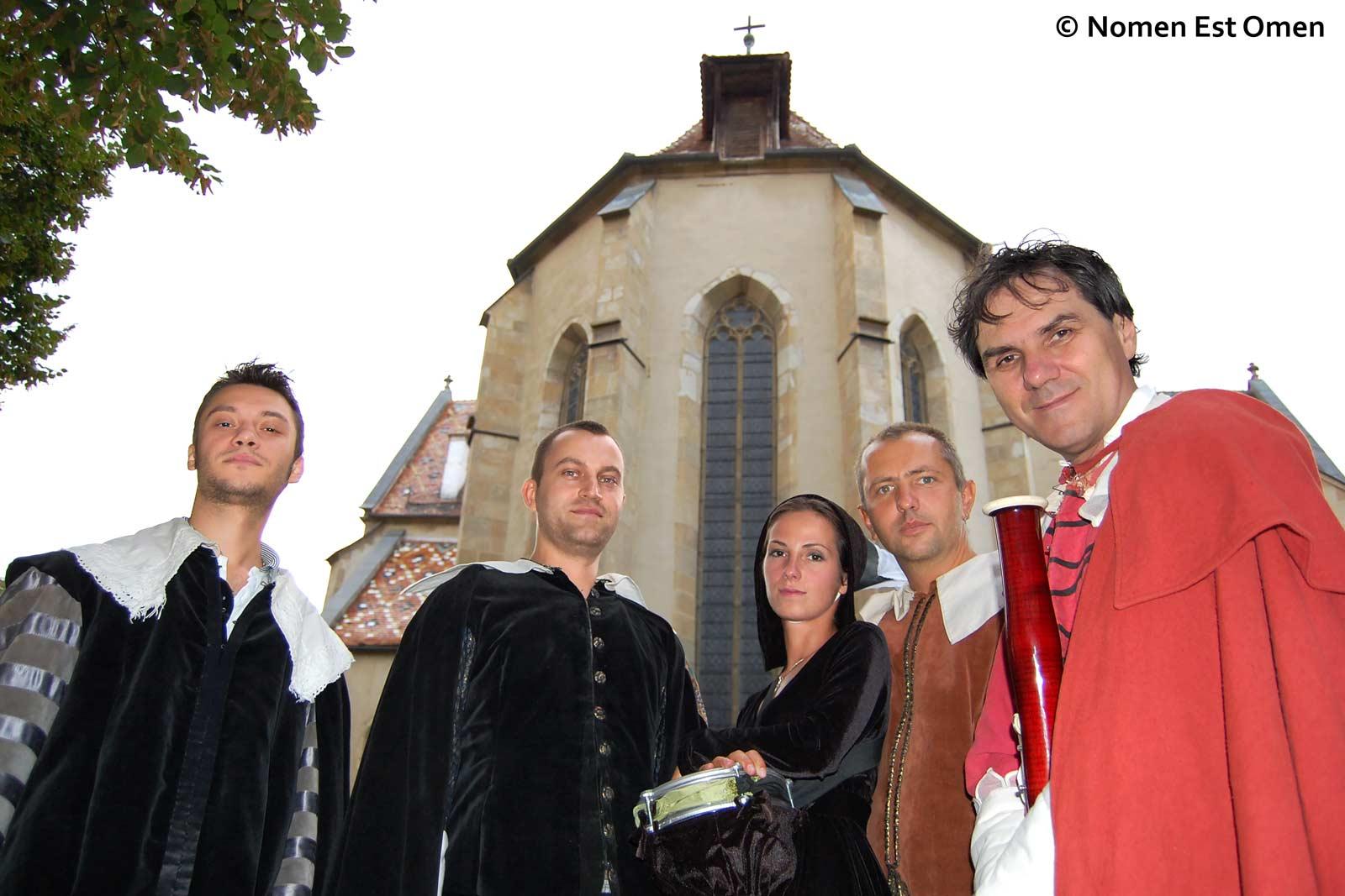 Silviu, Dragoş, Anca, Mihai & Adam la Festivalul Cetăţi Transilvane 2009