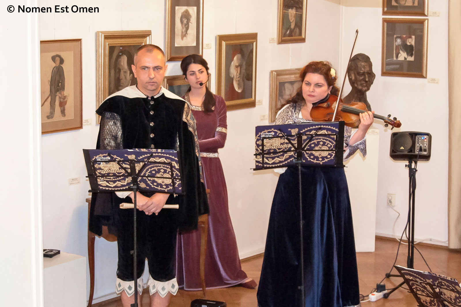 Nomen Est Omen la Muzeul Grigore Vasile