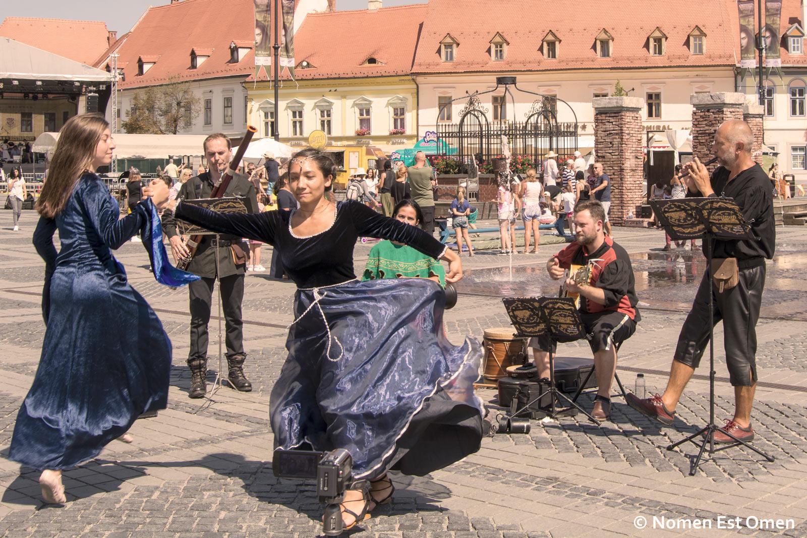 Sibiu medieval muzica si dans